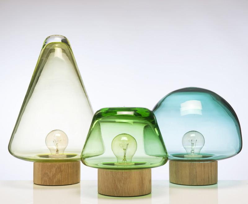 magnor glassverk lampe