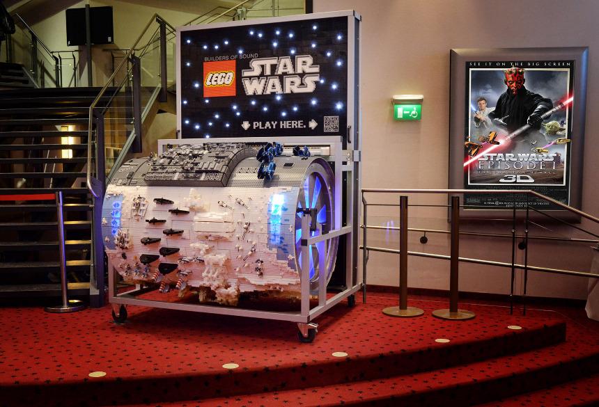 kreativitey#BUILDERS OF SOUND THE LEGO STAR WARS ORGAN